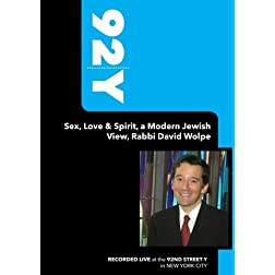 92Y-Sex, Love & Spirit, a Modern Jewish View, Rabbi David Wolpe (April 2, 2006)