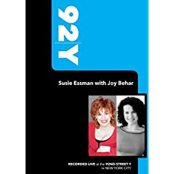 92Y-Susie Essman with Joy Behar (October 25, 2009)