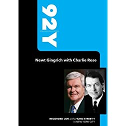 92Y-Newt Gingrich with Charlie Rose (February 15, 2007)