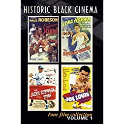 Historic Black Cinema (4 DVD set)
