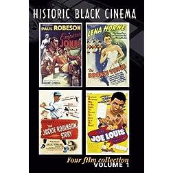 Historic Black Cinema (4 DVD set)