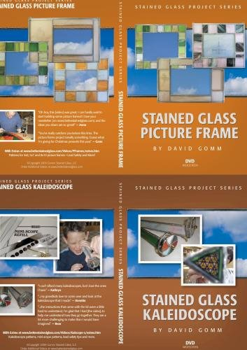 Beginning Stained Glass With Projects 4 Disc Set Huge Savings!!! Regularly $109.80 Combo Pack Only $64.95 (For A Short Time)
