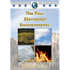 Four Elemental Environments: Earth Ait Water Fire