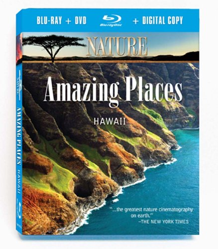 Nature: Amazing Places: Hawaii (2pc) (W/Dvd) [Blu-ray]