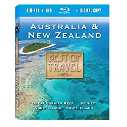 Best of Travel: Australia & New Zealand (2pc) [Blu-ray]