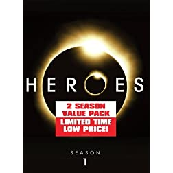 Heroes: Season 1 & 2 (11pc) (Ws Btb Dig Slip)