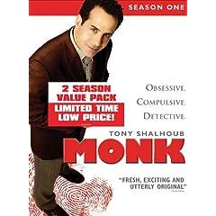 Monk: Season One & Two (8pc) (Ws Btb Dig Slip)