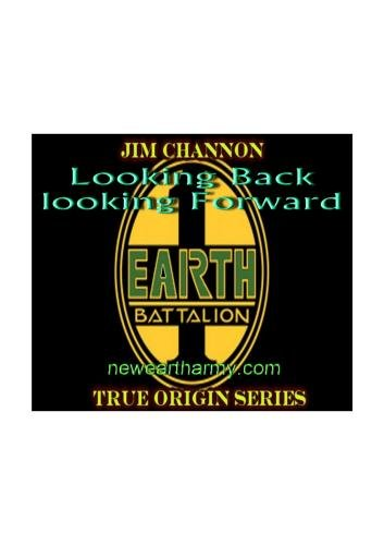 Jim Channon Looking Forward...Looking Back