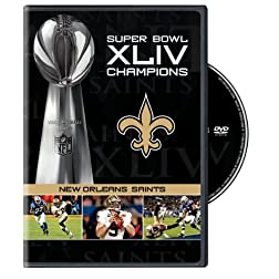 NFL Super Bowl Xliv Champs: Saints & Best Games 09