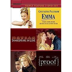 Emma (1996) & Shakespeare in Love & Proof (2005)
