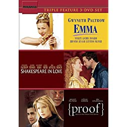 Emma (1996) & Shakespeare in Love & Proof (2005)