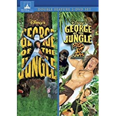 George of the Jungle 1 & 2 (2pc)