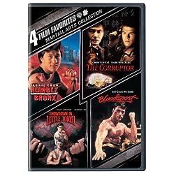 4 Film Favorites: Martial Arts (2pc) (Full Ws)