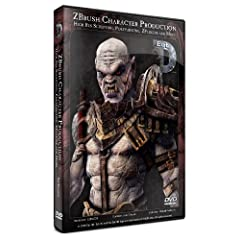 ZBrush 3.5 Character Production - High Res Sculpting, Polypainting, ZPlugins, and more