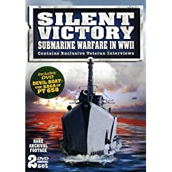 Silent Victory Submarine Warfare in WWII - Rare Archival Footage - 2 DVD Set!