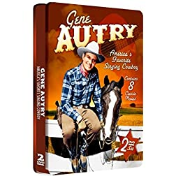 Gene Autry - 2 DVD Set! SPECIAL EMBOSSED TIN!