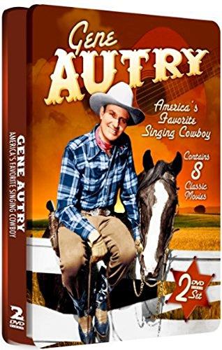 Gene Autry - 2 DVD Set! SPECIAL EMBOSSED TIN!