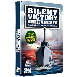 Silent Victory - Submarine Warfare in WWII - SPECIAL EMBOSSED TIN - 2 DVD Set!