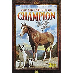 Adventures of Champion 2 DVD Set - SPECIAL EMBOSSED TIN - 10 Exciting Episodes from the television series!