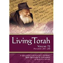 Living Torah Volume 72 Programs 285-288