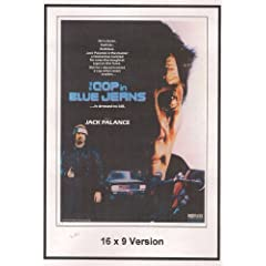 The Cop In Blue Jeans 16x9 Widescreen TV.