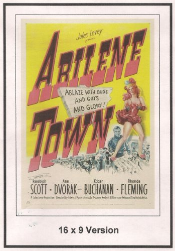 Abilene Town 16x9 Widescreen TV.