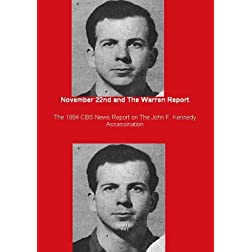 November 22nd and The Warren Report - The 1964 CBS News Report on The John F. Kennedy Assassination