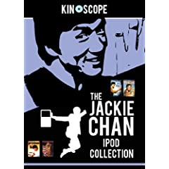 BNEW JACKIE CHAN collection - ipod / iphone films DVD