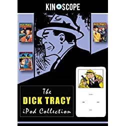 NEW DICK TRACY collection - ipod / iphone films DVD