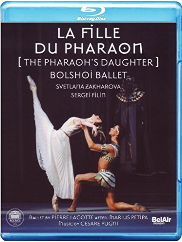 La Fille du Pharaon (The Pharaoh's Daughter) - featuring the Bolshoi Ballet [Blu-ray]