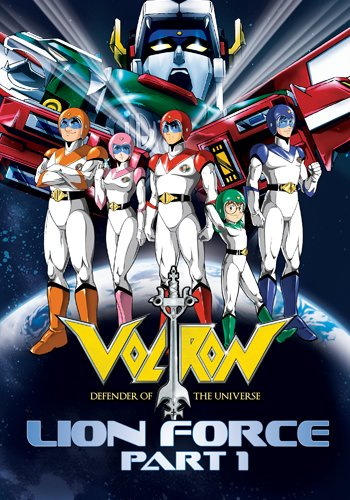 Voltron Lion Force Part 1 (7pc) (Full)