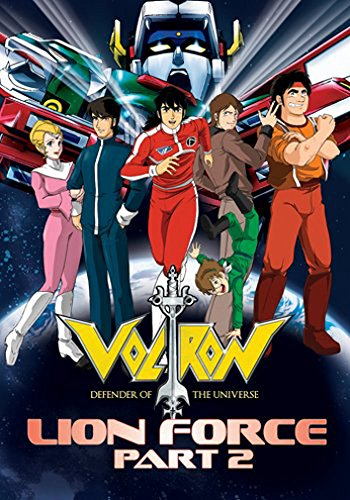 Voltron Lion Force Part 2 (8pc) (Full)