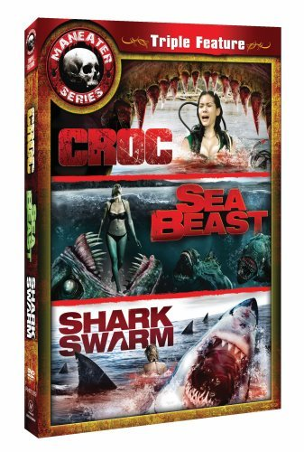 Maneater Triple Feature Three (Croc/Sea Beast/Swarm)