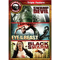 Maneater Triple Feature 2 (3pc) (Ws)