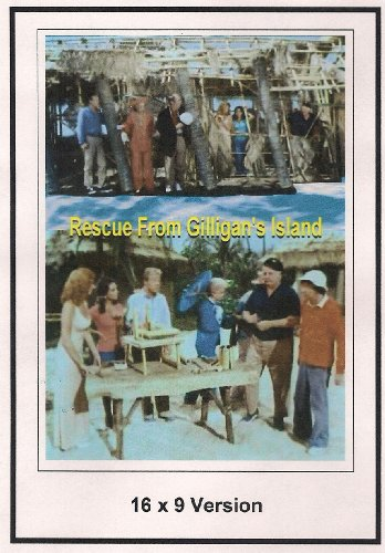 Rescue From Gilligan's Island 16x9 Widescreen TV.