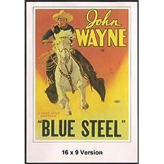 Blue Steel 16x9 Widescreen TV.