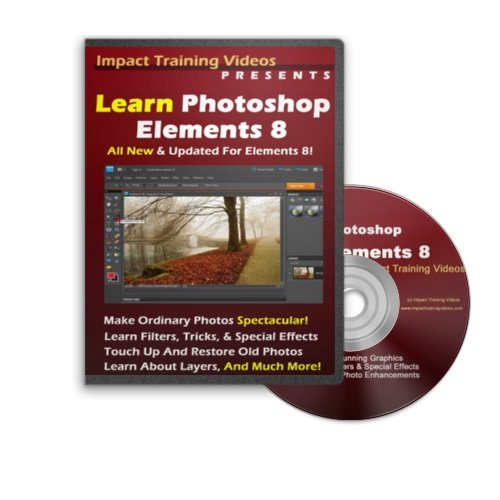 Learn Photoshop Elements 8 DVD