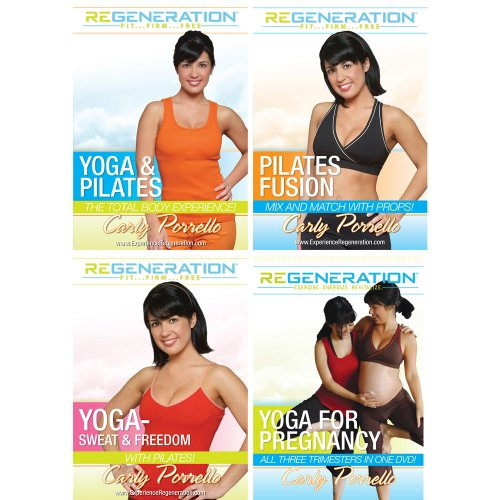 Carly Porrello-Yoga and Pilates 4 pack Suite