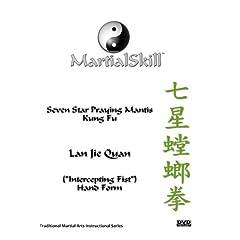"""Praying Mantis Kung Fu: Lan Jie Quan (""""Intercepting Fist"""") DVD"""