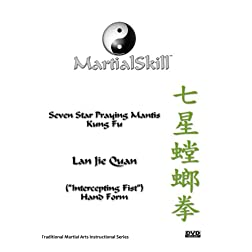 "Praying Mantis Kung Fu: Lan Jie Quan (""Intercepting Fist"") DVD"