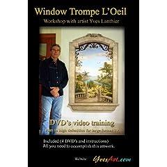 Window Trompe L'Oeil Workshop