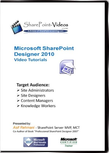 SharePoint Designer 2010 Video Training Tutorials