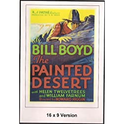 The Painted Desert 16x9 widescreen TV.