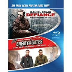 Defiance & Enemy at the Gates [Blu-ray]