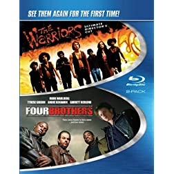 Four Brothers & Warriors [Blu-ray]