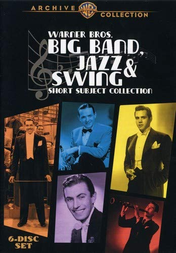 Warner Bros. Big Band Jazz & Swing-Short Subject Collection (63 Shorts 1932-1946) (6 Discs)