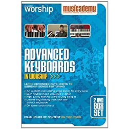 Advanced Keyboards in Worship - 2 DVD box set