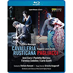 Mascagni: Cavalleria Rusticana & Leoncavallo: Pagliacci [Blu-ray]