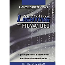 Lighting Interviews: Power of Lighting for Film