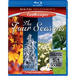 Living Landscapes: Four Seasons [Blu-ray]